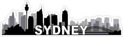 Sydney Skyline Sticker