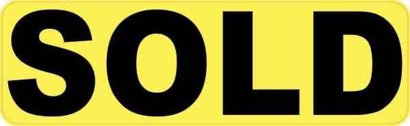 Yellow Sold Magnet