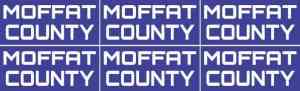 Moffat County Stickers