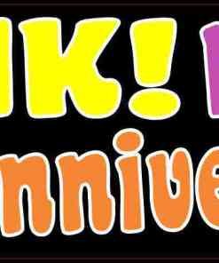 Honk! It's Our Fiftieth Anniversary Bumper Sticker