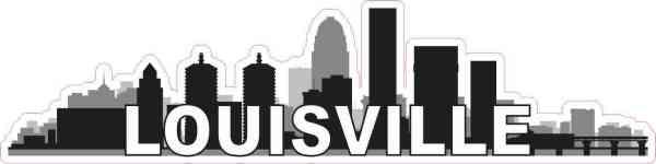 Louisville Skyline Sticker