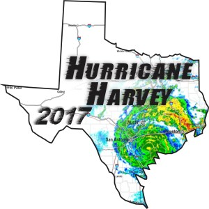 Texas Hurricane Harvey Sticker