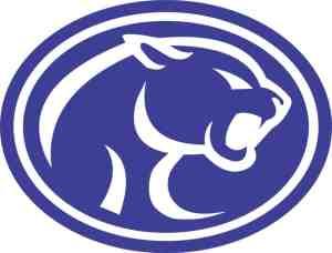 Cougar Mascot Sticker