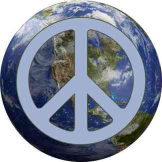 Peace on Earth Sticker