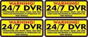 DVR Sticker