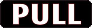 Pull Sticker