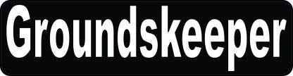 Groundskeeper Sticker
