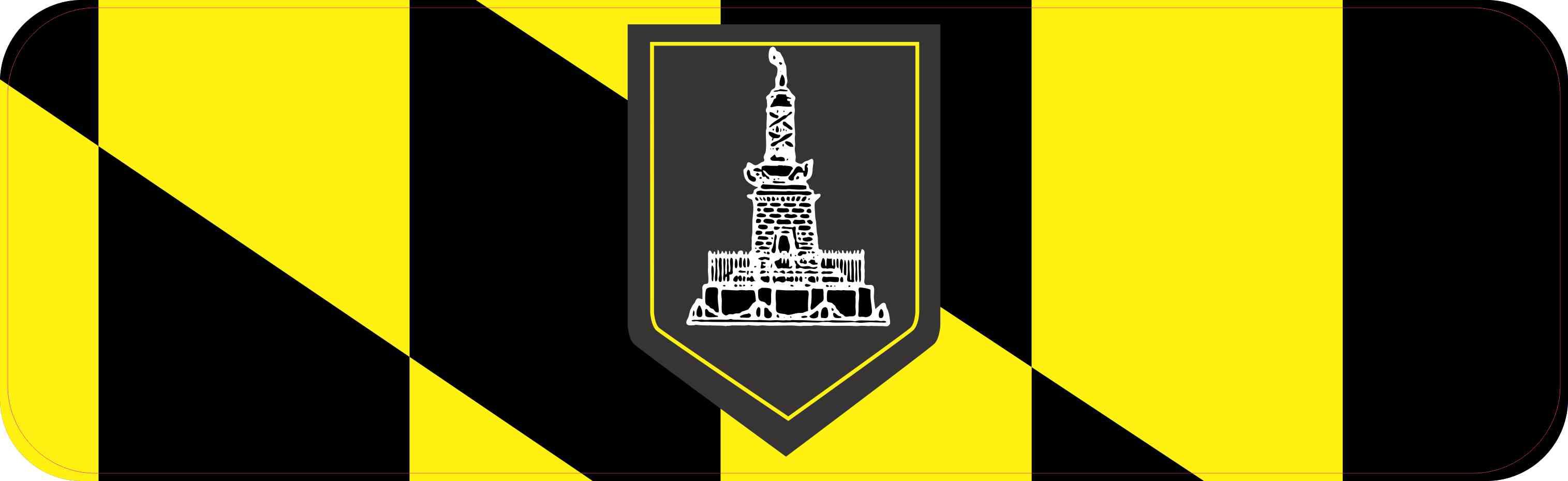 Baltimore Flag Magnet