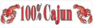 100% Cajun Magnet