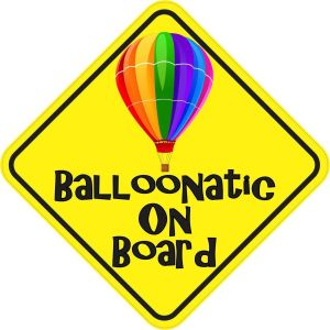 Balloonatic on Board Magnet