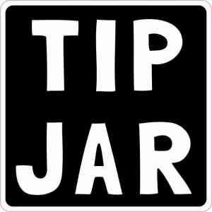 Tip Jar Magnet