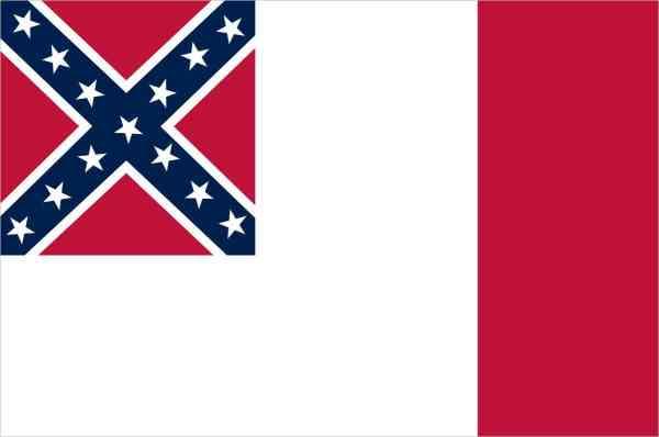 Third National Flag Sticker