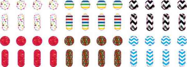 Whimsical Patterns Apple Watch Button Dots™