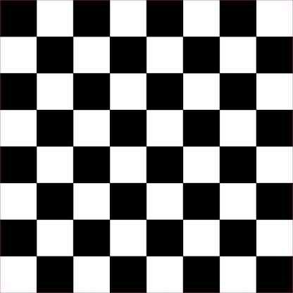 Black Checkered Hobby Cutter Vinyl Sheet Sticker