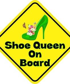 Shoe Queen On Board Magnet