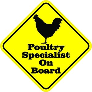 Poultry Specialist On Board Magnet