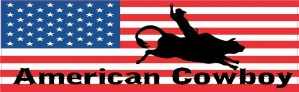 American Cowboy Magnet