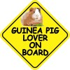 Guinea Pig Lover On Board Sticker