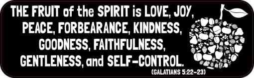 Galatians 5:22-23 Magnet