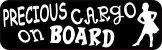 Girl Precious Cargo on Board Sticker