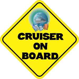 Cruiser On Board Sticker