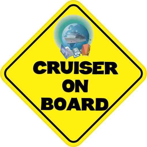 Cruiser On Board Sticker