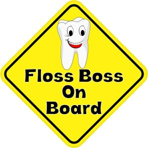 Floss Boss On Board Magnet