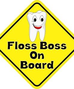Floss Boss On Board Magnet