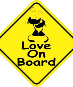 Love On Board Sticker
