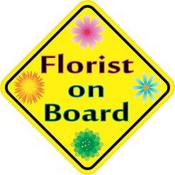 Florist on Board Magnet