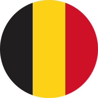 Belgian flag sticker