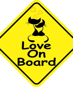 Love On Board Magnet