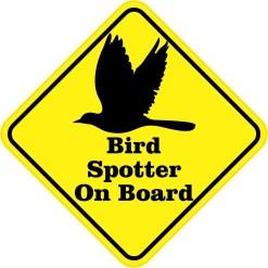 Bird Spotter On Board Magnet