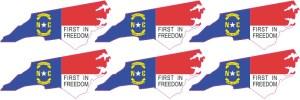 North Carolina Stickers