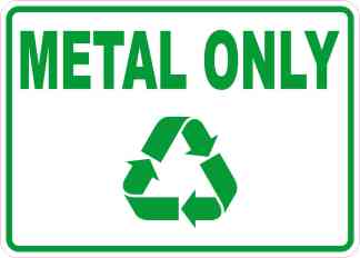 Metal Only Sticker