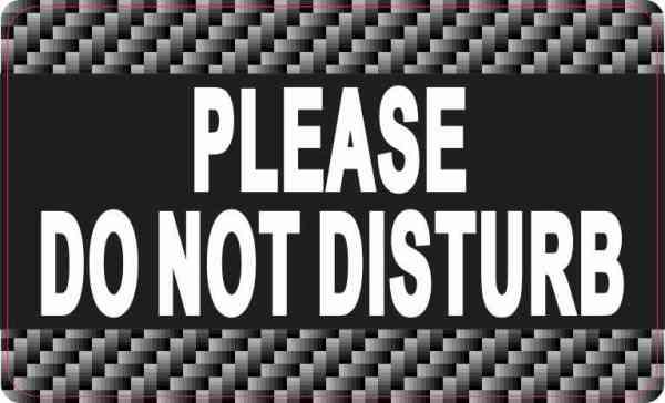 Please Do Not Disturb Magnet