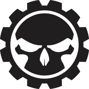 Gear Skull Sticker
