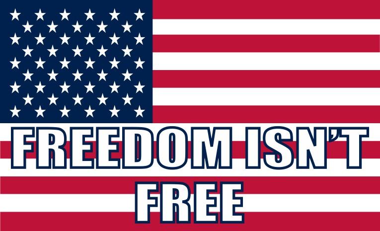 Freedom Isn't Free Sticker
