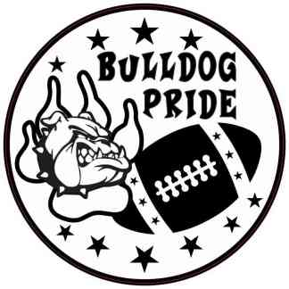 Bulldog Pride Sticker