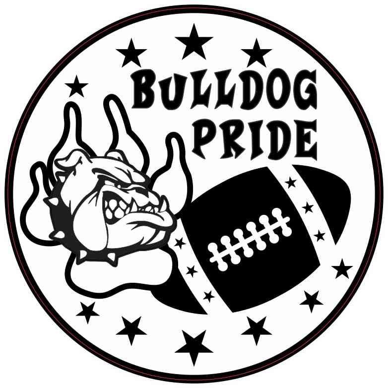Bulldog Pride Sticker