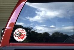Red Eagle Pride Sticker