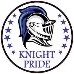 Blue Knight Pride Sticker