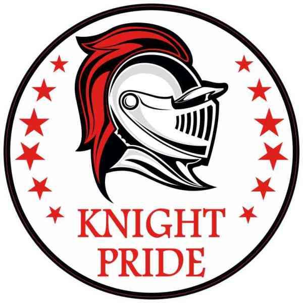 Red Knight Pride Sticker