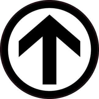 Directional Arrow Sticker