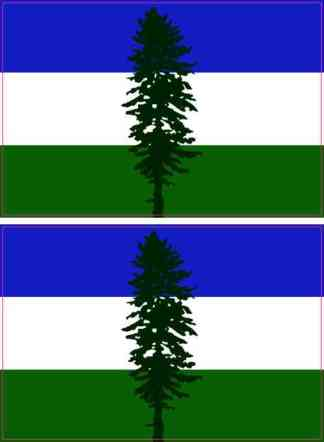 Cascadia Flag Stickers