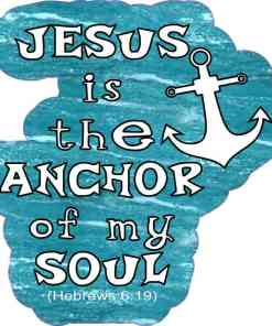 Jesus Is the Anchor Sticker