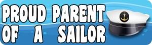 Proud Parent of a Sailor Magnet