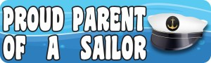 Proud Parent of a Sailor Magnet