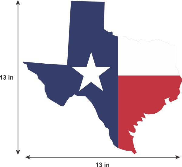 Texas State Flag Sticker