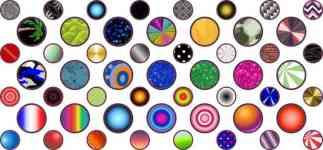 Random Patterns Camera Dots